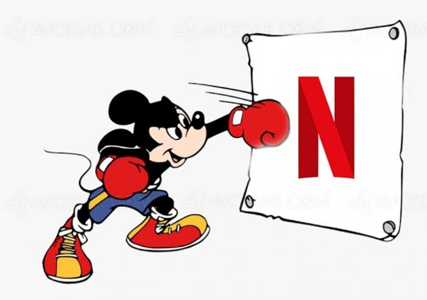 Disney+ va‑t‑il mettre K.O Netflix ?