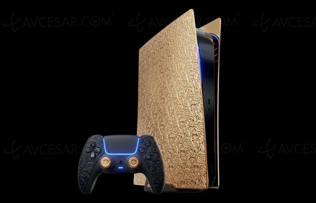PlayStation 5 en or 18 carats : 300 000 €
