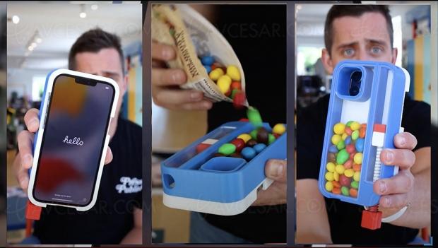 Tuto pour transformer son iPhone 13 Pro en distributeur de bonbons