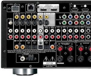 test amplificateur yamaha rx v3067 connectique. Black Bedroom Furniture Sets. Home Design Ideas