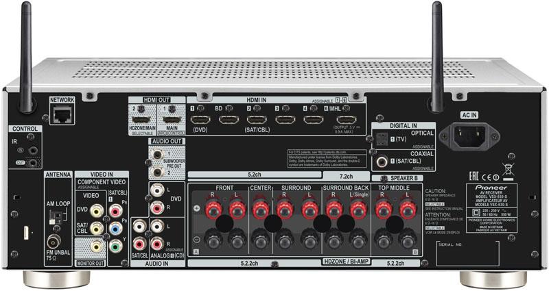 PIONEER VSX-930-S AV RECEIVER TREIBER HERUNTERLADEN