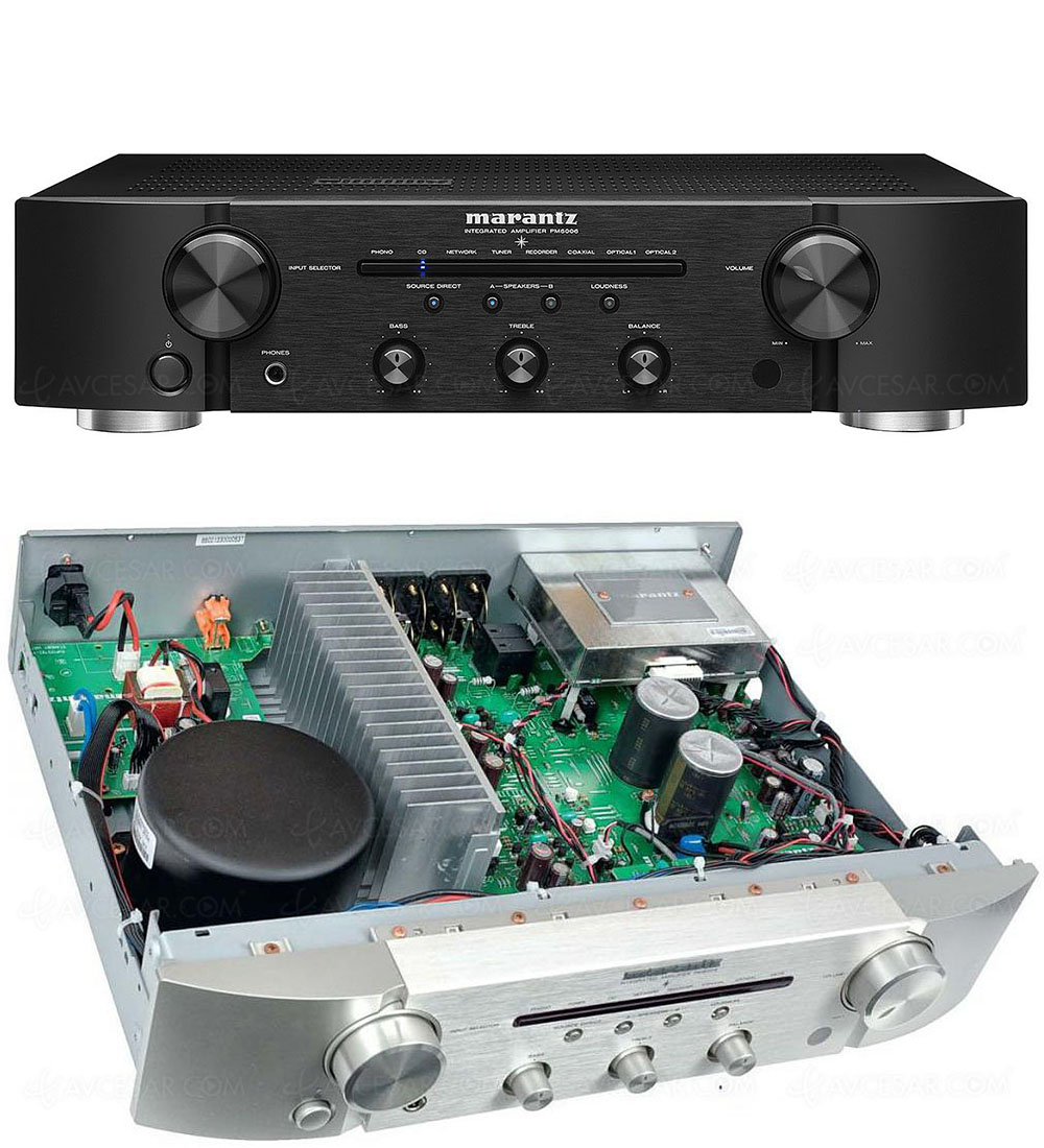 test amplificateur marantz pm6006 r sum. Black Bedroom Furniture Sets. Home Design Ideas