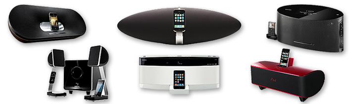 6 stations d'accueil iPod/iPhone à moins de 600 euros