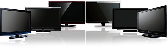 6 écrans 46/47 pouces HDTV 1 080p avec compensation de mouvement