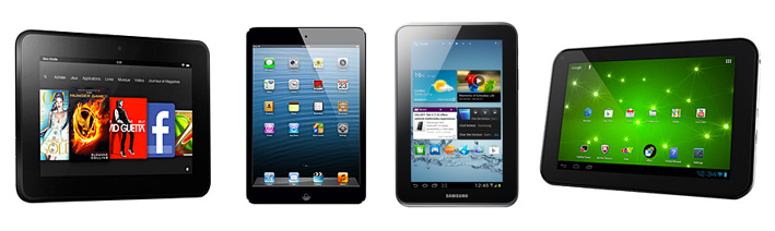 Comparatif : quelle tablette 7'' choisir ?