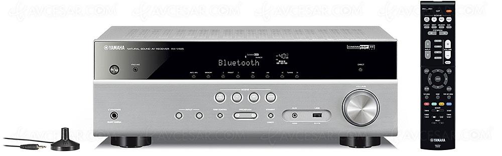 test yamaha rx v485 musiccast 20 musiccast sub 100. Black Bedroom Furniture Sets. Home Design Ideas