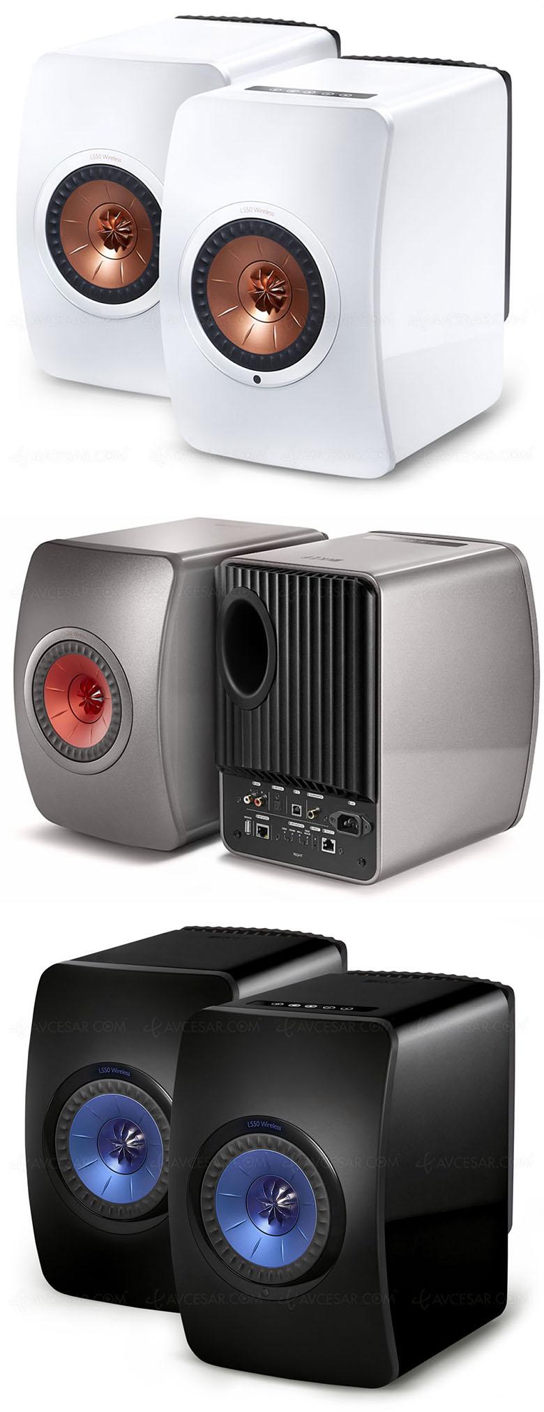 test kef ls50 wireless r sum. Black Bedroom Furniture Sets. Home Design Ideas
