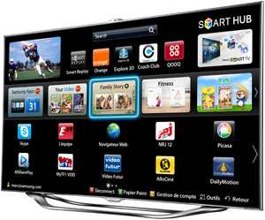 test tv cran plat samsung ue46es8000 multim dia. Black Bedroom Furniture Sets. Home Design Ideas