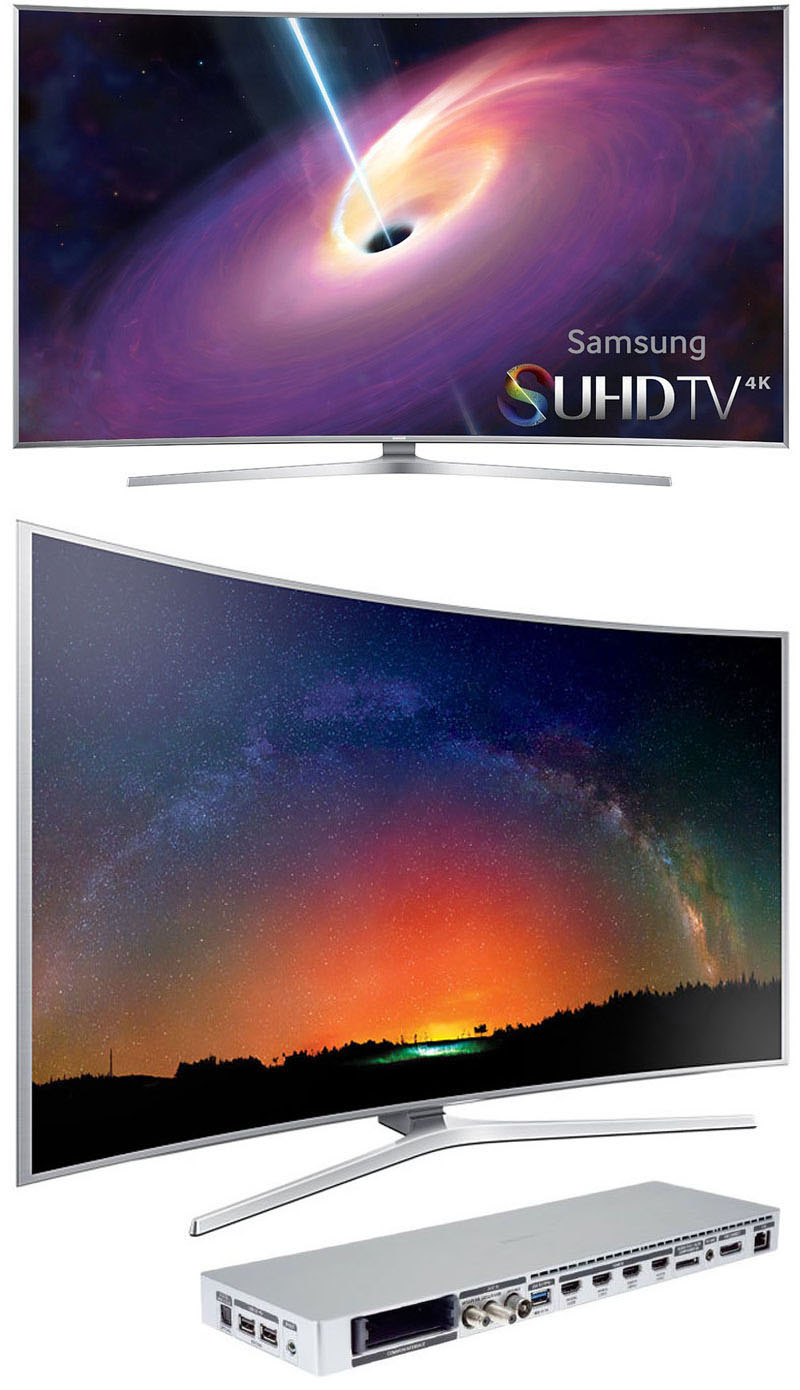 samsung suhd ue48js9000 smart 3d 4k ultra hd 48 curved led tv new ebay. Black Bedroom Furniture Sets. Home Design Ideas