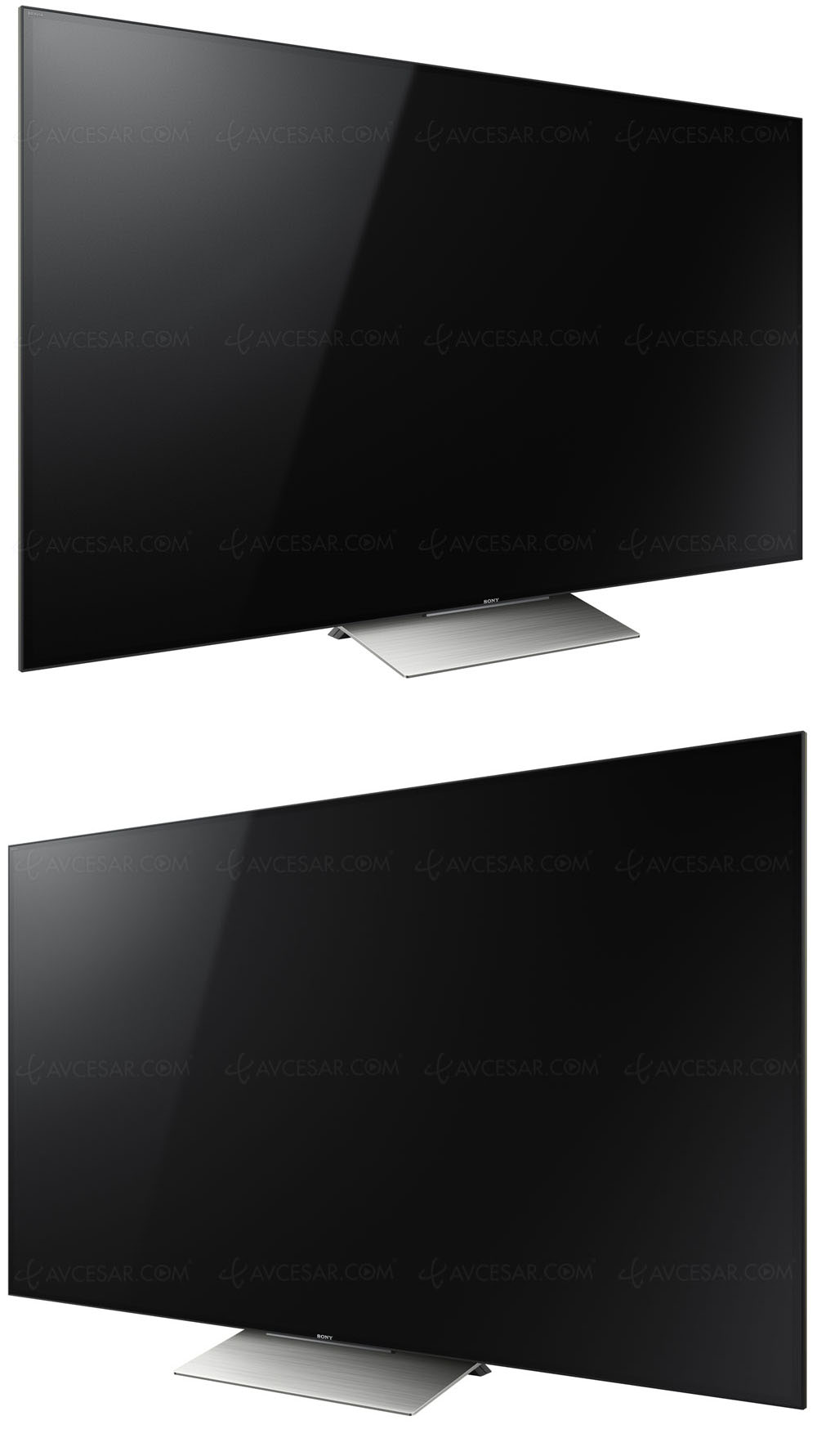 test tv cran plat sony kd 75xd9405 r sum. Black Bedroom Furniture Sets. Home Design Ideas