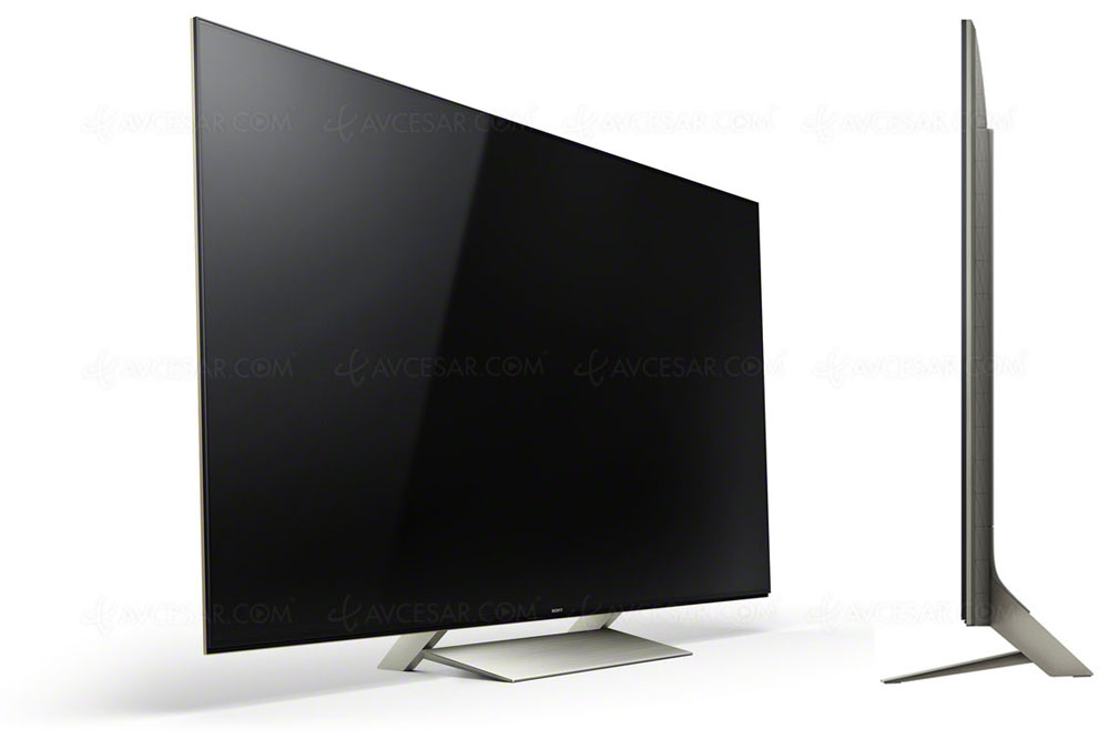 test tv cran plat sony kd 65xe9305 r sum. Black Bedroom Furniture Sets. Home Design Ideas