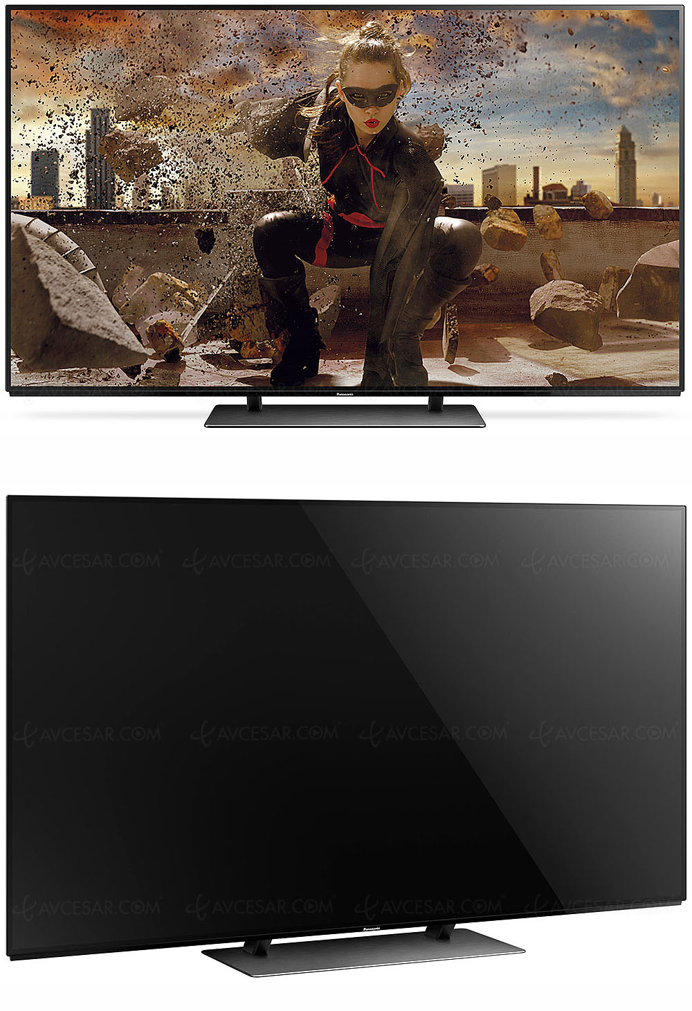 test tv cran plat panasonic tx 65ez950 r sum. Black Bedroom Furniture Sets. Home Design Ideas