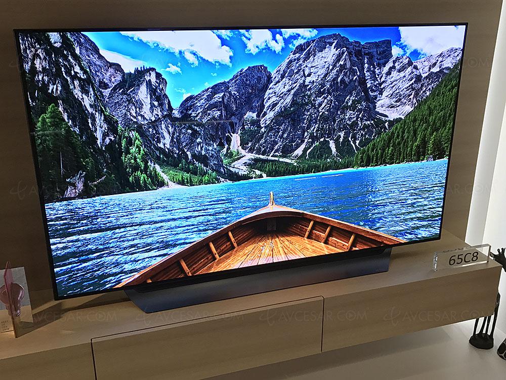 Test TV - Écran plat LG OLED65C8 - Résumé