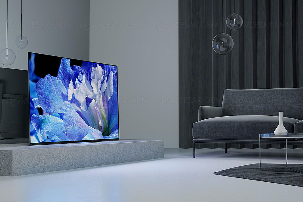 Test TV - Écran plat Sony KD-65AF8 - Résumé