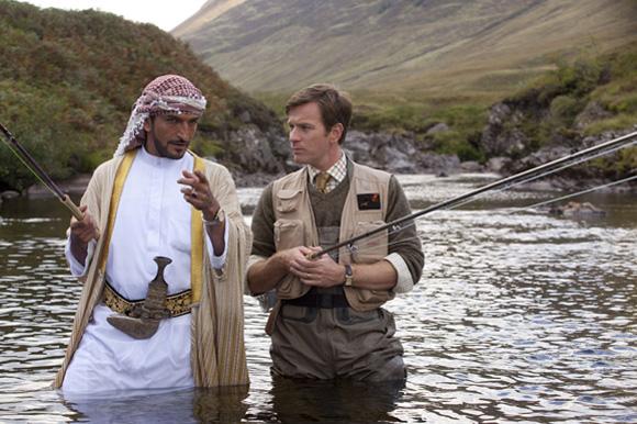 Des saumons dans le désert (2011)
