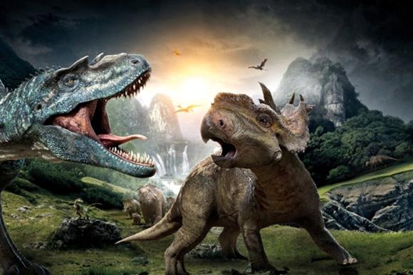 Test Sur La Terre Des Dinosaures 3d Blu Ray