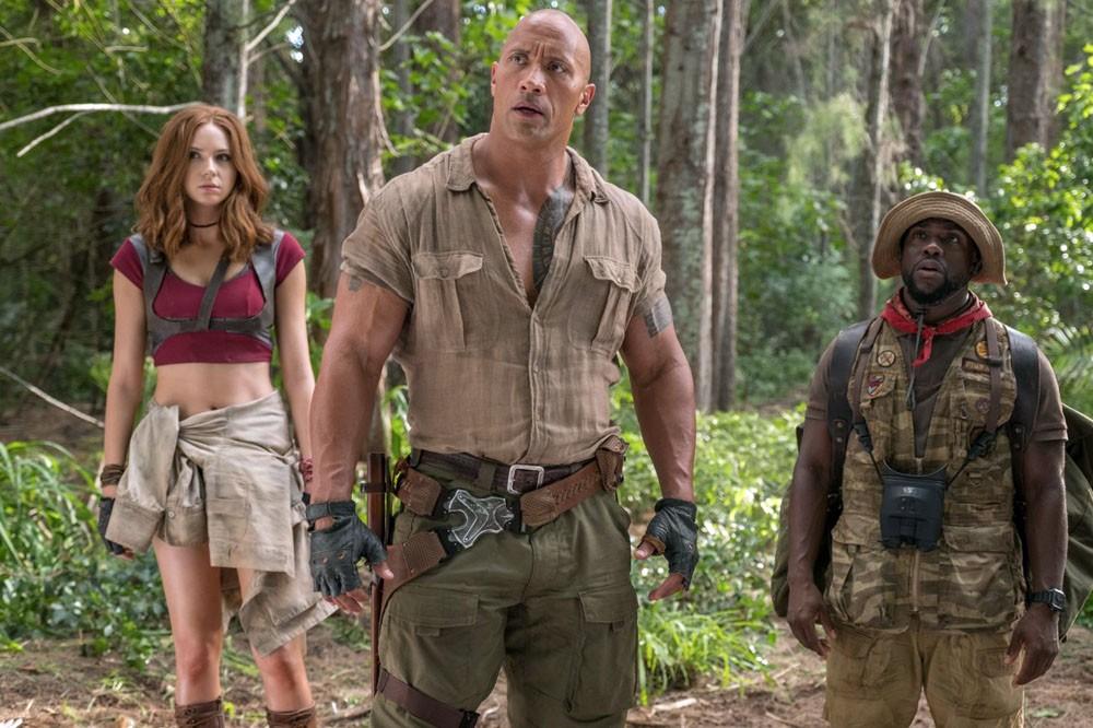 Jumanji: bienvenue dans la jungle (2017)
