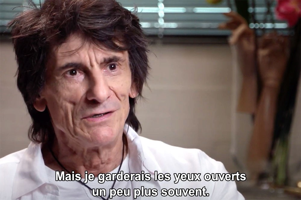 Ronnie Wood : Somebody Up There Likes Me (2019)